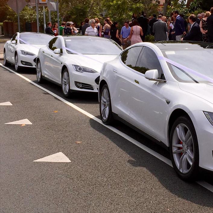 Ecosse EV Tesla Wedding Cars