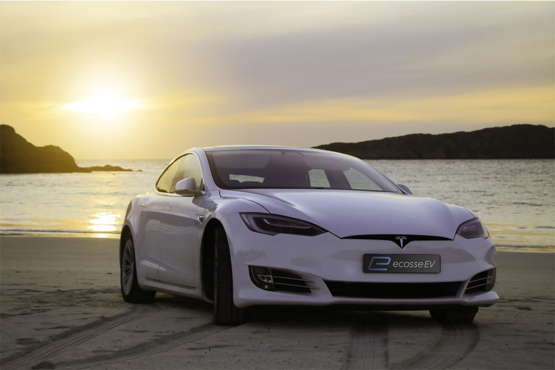 Tesla Beach on the North Coast 500