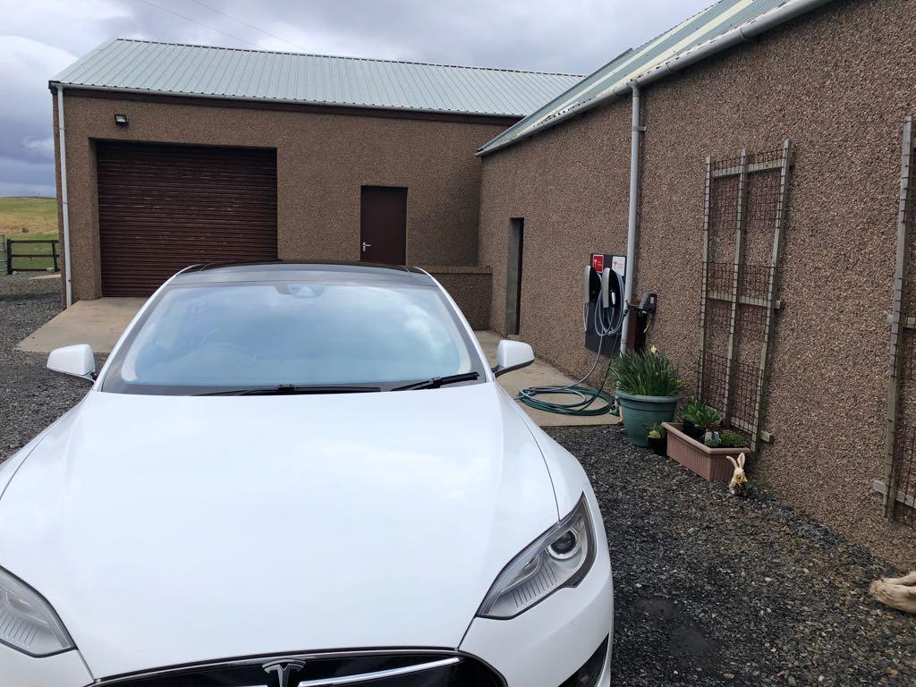 Sharvedda Bed and Breakfast Tesla Destination Charger
