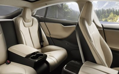 Tesla Chauffeur rear seats